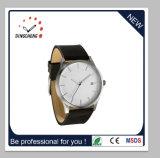 Il commercio personalizza la vigilanza di stile di Mvmt dell'acciaio inossidabile di marchio con la cinghia di cuoio genuina