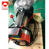 Ascensor sin engranajes máquina de tracción de la correa Sn-Fxpd100, el motor de elevación