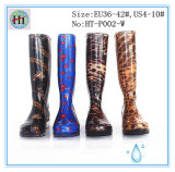 Ботинок дождя женщины прозрачный, прозрачные ботинки
