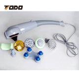 8 헤드를 가진 1개의 안마 지팡이 전기열 적외선 물리 요법 소형 바디 안마 망치에 대하여 전기 7