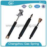 Resorte de gas ajustable de plata con la llave inglesa para la silla médica