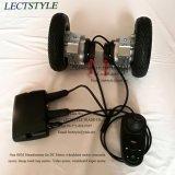 DC sin escobillas Hub Silla de ruedas con el controlador del motor y palanca de mando en silla de ruedas