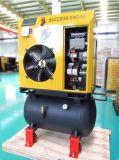 Compresor de aire de tornillo portátil (4kw, 5.5HP, 7bar, de 0,5 m3/min).