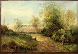 Paysage classique de haute qualité peinture huile sur toile