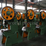 Punzonadora del orificio de la prensa de potencia mecánica de la fabricación de metal de hoja J23 80t