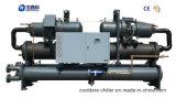 Semi-Hermetic 두 배 압축기 물 나사 냉각장치