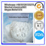 99% 처리되지 않는 스테로이드 분말 남자 성적인 Yohimbine HCl CAS 65-19-0