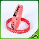 Wristband della gomma del silicone di marchio reso personale commercio all'ingrosso