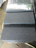 De goedkope Gevlamde G654 Tegel van het Graniet van Padang Donkere Grijze voor OpenluchtBevloering
