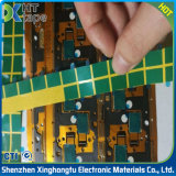 Alta calidad de adhesivo de silicona de alta temperatura de color verde de cintas de Pet