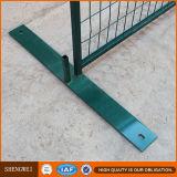 Conveniente para la barrera portable temporal de la construcción