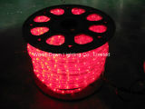 4 LED de alta tensión cable plano flexible cuerda caída de la luz multicolor