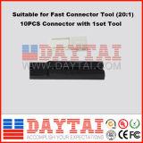 0.3dB Schakelaar van de Kabel van de Daling van de Vezel van het Verlies van de toevoeging de Optische Sc/Upc