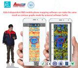 мобильный телефон 0-200m составляя карту приспособление обнаружения воды искателя воды детектора подземной воды
