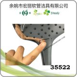Buena calidad de ducha de mano de dos funciones cambiando por el contacto