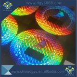 Holograma de sellado caliente tejido