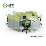 가득 차있는 위원회 나무로 되는 가구 모듈 사무실 책상 Yf-G0804