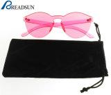 2017 gafas de sol transparentes de la nueva del caramelo vendimia viva de moda del color (SP669096)