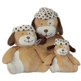 도매 연약한 직물 귀여운 개 견면 벨벳 장난감