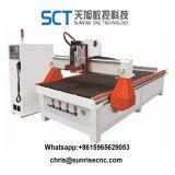 Máquina para hacer de la puerta de madera CNC Máquina de corte