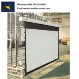 Haut de page Matt White 4K matériau flexible Ecran de projection électrique