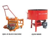 Легко управлять машиной Qm4-45 блока цилиндров дизельного двигателя для мобильных ПК для продажи машина для формовки бетонных блоков для скрытых полостей