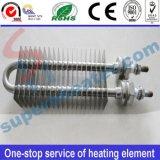 Las aletas del acero inoxidable secan el calentador tubular eléctrico del elemento de calefacción