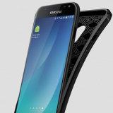 Подошва из термопластичного полиуретана мягкий кожаный чехол для Samsung Galaxy J7 PRO случае Dermatoglyph обратно крышку опоры для J7 2017