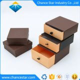 Custom Brown Color Paper Cardboard Garment Package Box