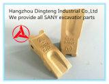 Diente superior Sy75.3.4-2 No. 12076809K del compartimiento de los recambios de la marca de fábrica para el excavador hidráulico Sy60-Sy95 de Sany