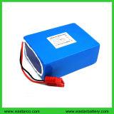 Pack batterie du lithium LiFePO4 de la batterie au lithium de système de stockage d'énergie solaire 12V 50ah