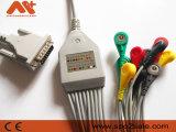 Fukuda ich einteiliges 10-Lead EKG Kabel mit Widerstand 4.7K