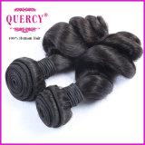 工場価格のブラジルの人間の毛髪は、卸し売りクチクラ毛を一直線に並べた
