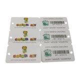 Карточки PVC Barcode/Qr напечатанные Кодим комбинированные с карточкой вознаграждением ключевой бирки/карточкой верноподданности