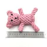 개 장난감 면 밧줄 곰 애완 동물 장난감