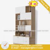 Forniture di ufficio di legno di vetro della scrivania del quadro superiore (HX-8ND9417)