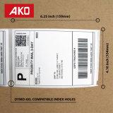 """Escrituras de la etiqueta de envío excelentes compatibles del papel termal de la calidad de las escrituras de la etiqueta de envío 4XL de """" X 6 """" de Dymo 4"""