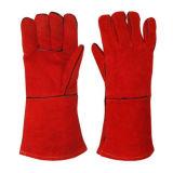 牛そぎ皮の溶接のための長い袖口の手袋