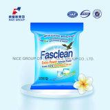 Pó extra rico do detergente da potência da espuma 35g Fasclean do perfume natural