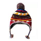 Red Hat Акриловые вкладыши Earflap воздуха зимой Beanie вязки Red Hat