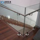 中国の製造者のステアケースのための屋内装飾的なガラスBalusterの栓