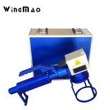 Pneu tenu dans la main d'inscription de laser de fibre de machine de laser avec le câble de 1.5m