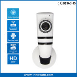 Smart Home Audio bidireccional 1080P de apoyo de la cámara IP WiFi tarjeta SD de 128g