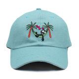 판매를 위한 주문 아빠 모자 평야 자수 야구 모자