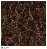 ブラウンのカラーによって艶をかけられる磁器の床タイル