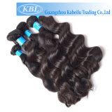 Extensions brésiliennes de Brown de cheveu de Vierge d'onde de corps de Vierge (KBL-BH-BW)