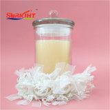 Vela de la jarra de cristal con tapa de cristal en blanco total