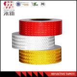 Fita reflexiva branca vermelha da segurança do amarelo 50mm*50m