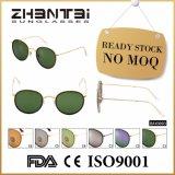 Óculos de sol conservados em estoque prontos de Male&Female da forma com lentes de vidro (BAX0003)