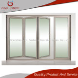 Portello Bi-Piegante di vetro interno esterno dell'alluminio doppio